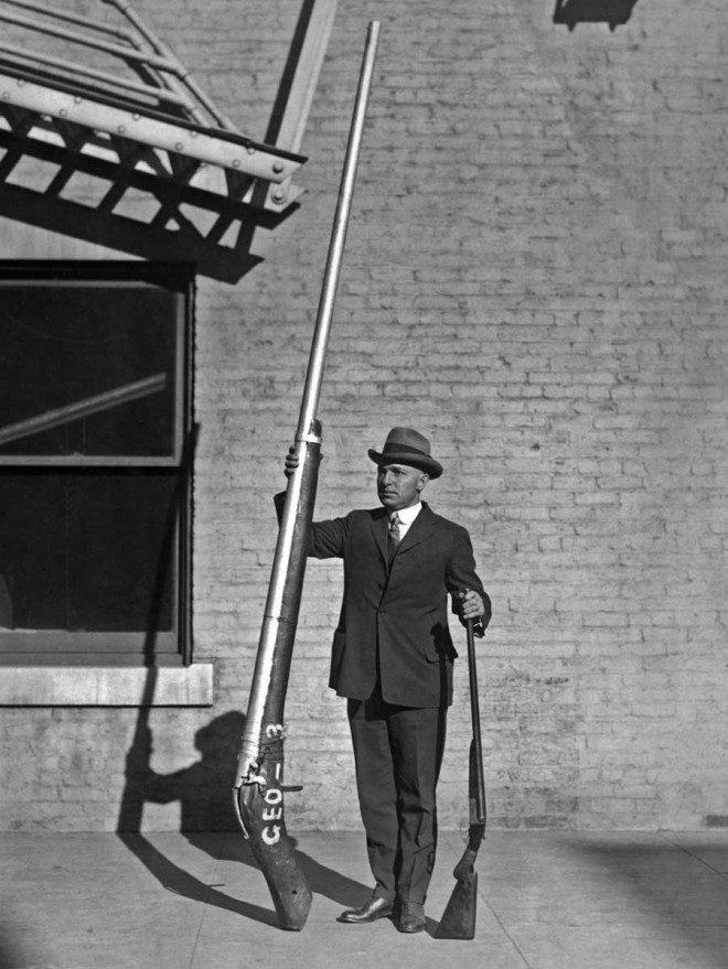 بزرگترین تفنگ شکاری قرن هیجدهم+ عکس
