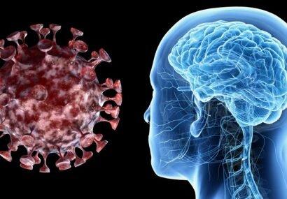 درگیر شدن مغز به کرونا ،از درگیر شدن ریه خطرناکتر است