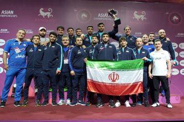 کشتی آزاد ایران بر بام قاره کهن قرار گرفت