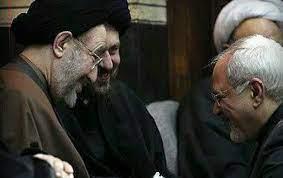 دیدار ظریف با خاتمی و سید حسن خمینی؛«ظریف» قاطعانه حضور در انتخابات را رد کرد