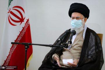 رهبر معظم انقلاب:مردم خوزستان ناراحتیشان را بروز دادند و هیچ گلهای نمی شود از آنان داشت