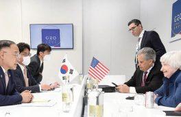 توافق آمریکا با کرهجنوبی بر سر بازگشت داراییهای ایران