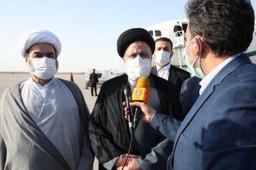رییس جمهور:حضور اینجانب در استان ها با هدف آشنایی با مشکلات مردم و شناخت ظرفیت هاست