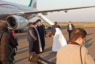 آغاز بازدید میدانی هشتم، رئیس جمهوری وارد استان اردبیل شد