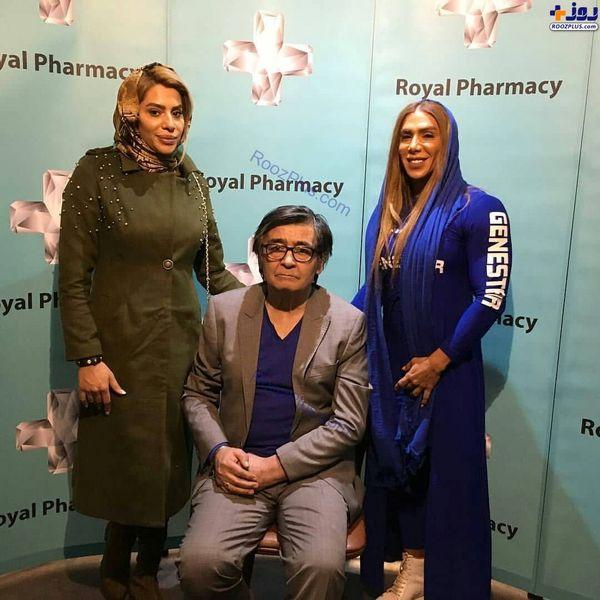 عکس جدید رضا رویگری و همسرش