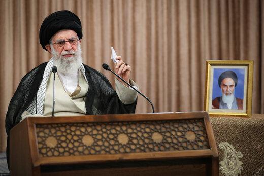 رهبر انقلاب: قهر کردن با صندوق رأی مشکلی را رفع نمی کند