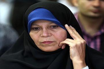 فائزه هاشمی: مشارکت پایین ۵۰ درصد نوعی رفراندم بود