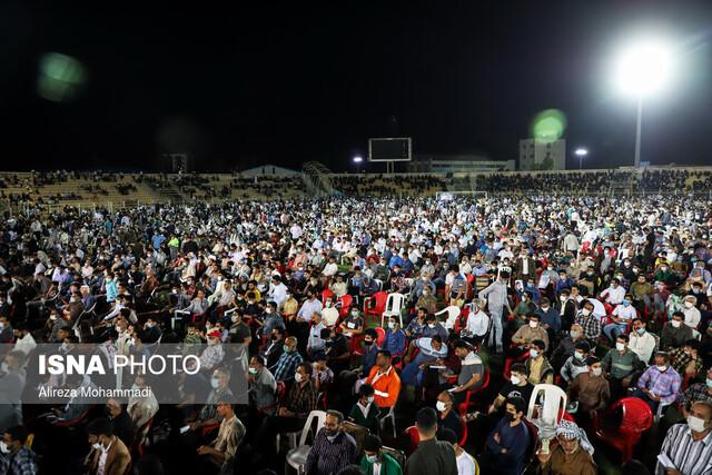 دعوت عمومی شهروندان و عدم رعایت پروتکلهای بهداشتی در یک تجمع انتخاباتی/دستور رسیدگی رئیس جمهور