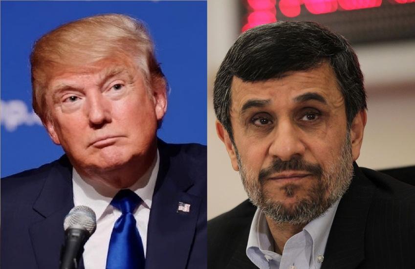 تشابه ترامپ و احمدی نژاد